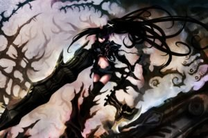 anime, Anime girls, Black Rock Shooter, Insane Black Rock Shooter