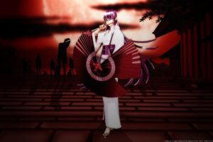 Busujima Saeko, Highschool of the Dead, Traditional clothing, Kimono