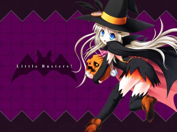 anime girls, Halloween HD Wallpaper Desktop Background