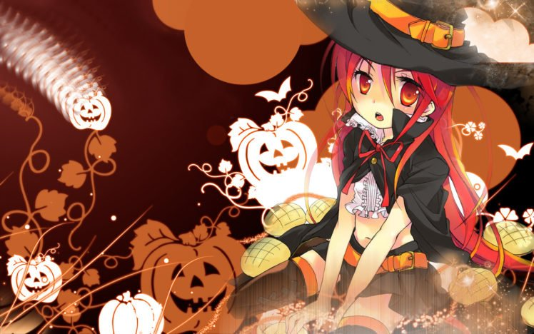 anime girls, Halloween, Shana, Shakugan no Shana HD Wallpaper Desktop Background