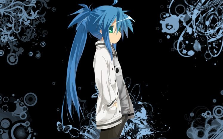 anime girls, Lucky Star, Izumi Konata HD Wallpaper Desktop Background