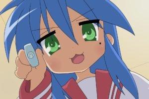 anime girls, Lucky Star, Izumi Konata