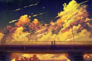 anime, Bridge