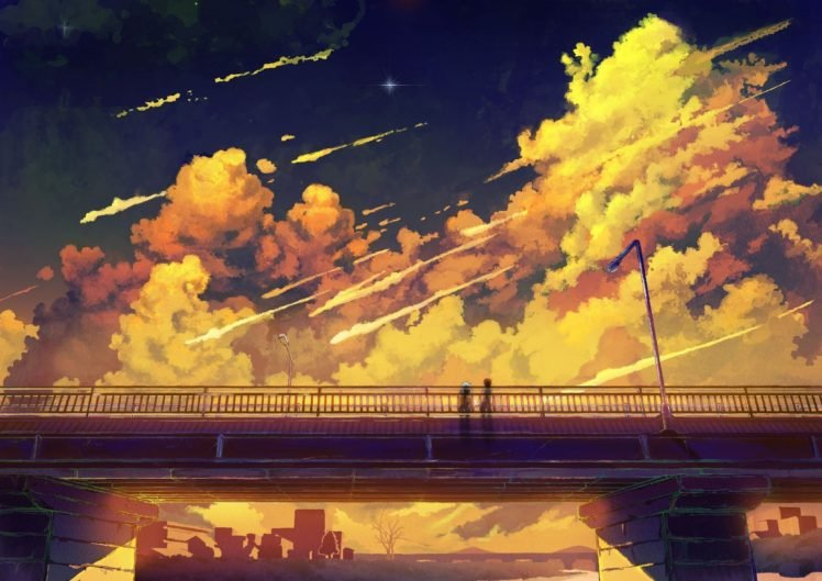 Unduh 97 Orange Anime Wallpaper Hd Gratis Terbaik