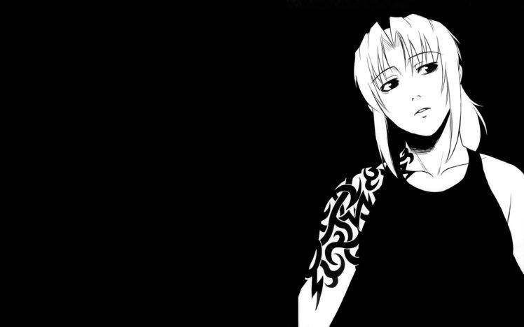 Revy, Black Lagoon, Black HD Wallpaper Desktop Background