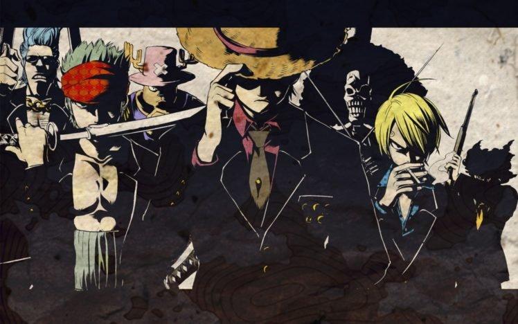 One Piece Strawhat Pirates Monkey D Luffy Roronoa Zoro Tony