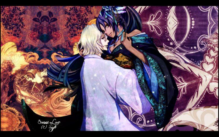 Snyp, Bleach, Urahara Kisuke, Shihouin Yoruichi HD Wallpaper Desktop Background