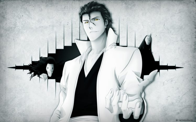 Bleach, Sousuke Aizen, Anime HD Wallpaper Desktop Background