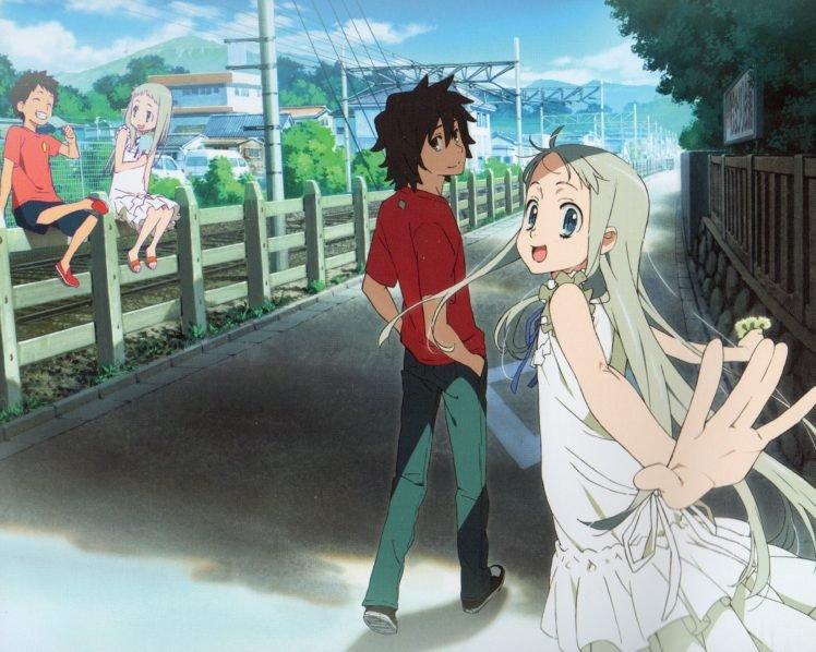 Ano Hi Mita Hana no Namae wo Bokutachi wa Mada Shiranai, Anime, Scanned image HD Wallpaper Desktop Background