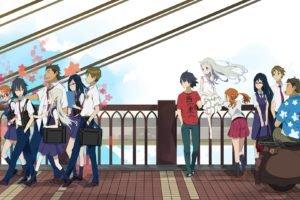 Ano Hi Mita Hana no Namae wo Bokutachi wa Mada Shiranai, Anime