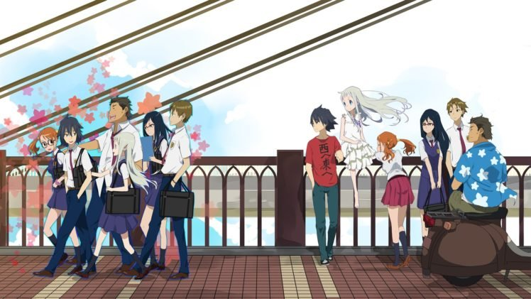 Ano Hi Mita Hana no Namae wo Bokutachi wa Mada Shiranai, Anime HD Wallpaper Desktop Background