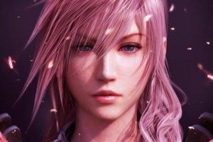video games, Pink hair