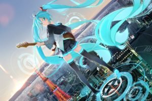 anime, Anime girls, Hatsune Miku, Vocaloid
