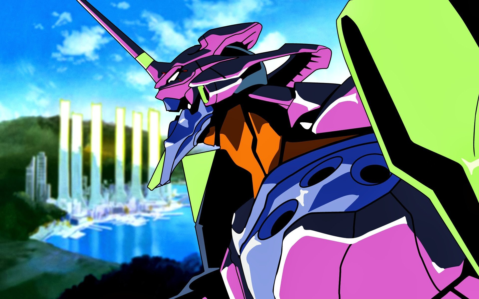 Anime Neon Genesis Evangelion Eva Unit 01 Hd Wallpapers