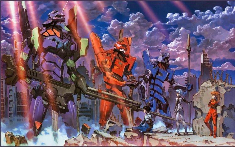 Anime Neon Genesis Evangelion EVA Unit 02 00
