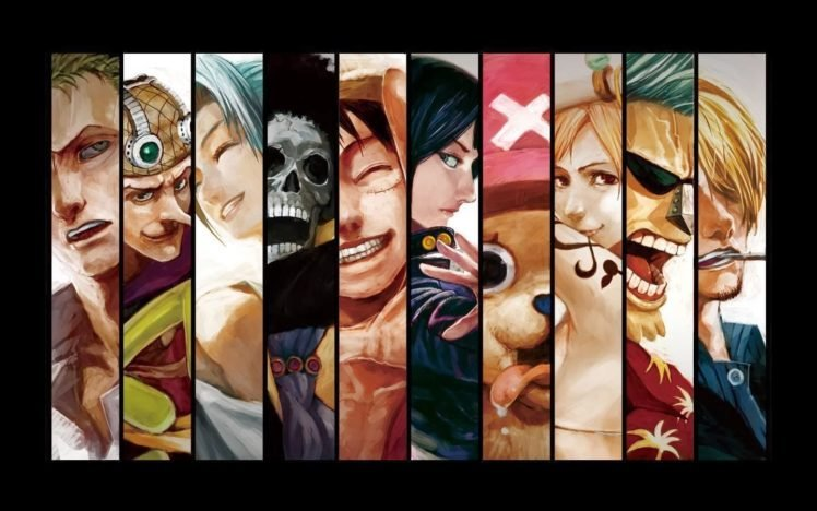Anime One Piece Panels Straw Hat Pirates Hd Wallpapers Desktop
