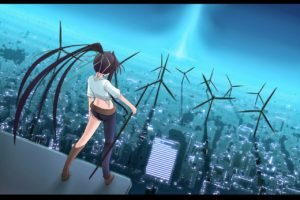 anime, To aru Majutsu no Index, Wind turbine