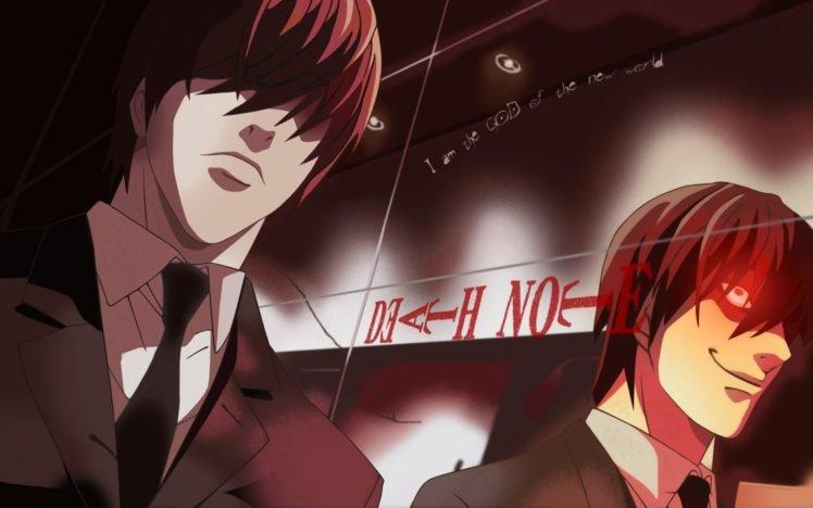 anime, Death Note, Yagami Light HD Wallpaper Desktop Background
