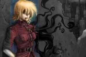 anime, Hellsing, Seras Victoria, Vampires