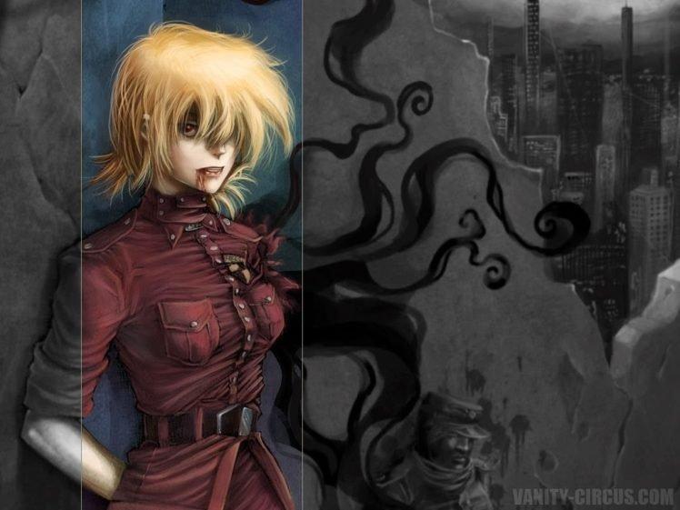 anime, Hellsing, Seras Victoria, Vampires HD Wallpaper Desktop Background