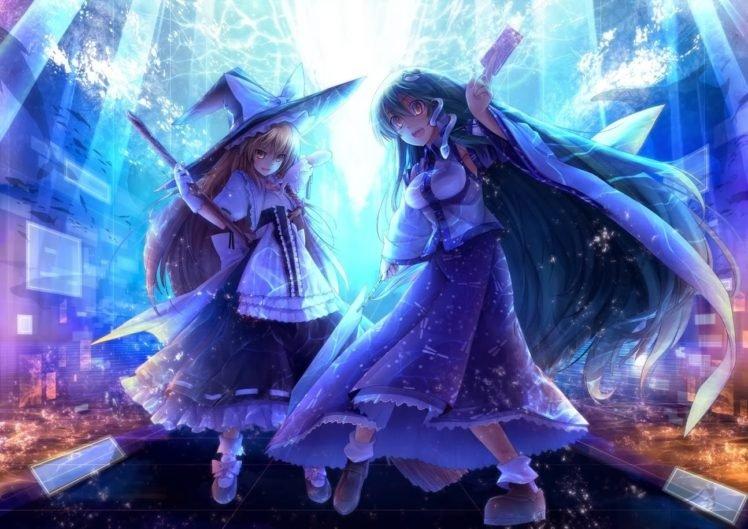 anime, Touhou, Kirisame Marisa HD Wallpaper Desktop Background