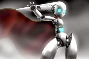 anime, Robot, Drossel