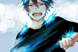 anime, Blue Exorcist, Okumura Rin
