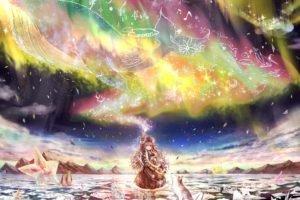 fantasy art, Aurorae, Magic