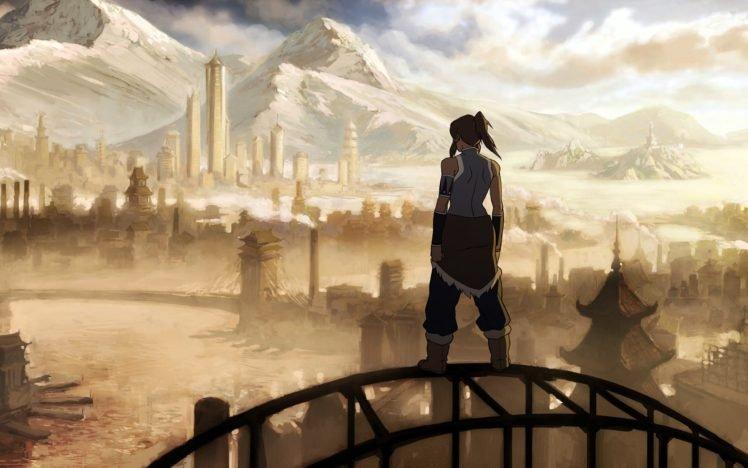 Korra, The Legend of Korra, Republic City HD Wallpaper Desktop Background