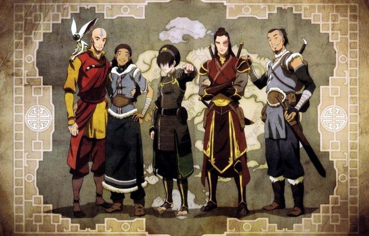 Aang, Avatar: The Last Airbender, Toph Beifong, Prince Zuko HD Wallpaper Desktop Background