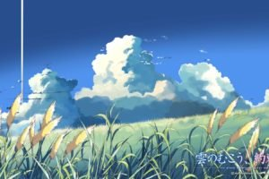 The Place Promised In Our Early Days, Anime, Clouds, Makoto Shinkai
