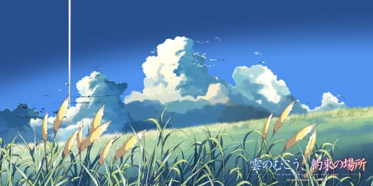 The Place Promised In Our Early Days, Anime, Clouds, Makoto Shinkai HD Wallpaper Desktop Background