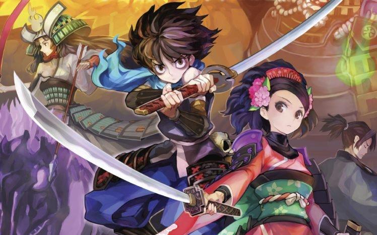 Muramasa: The Demon Blade, Anime, Video games, Muramasa Rebirth HD Wallpaper Desktop Background