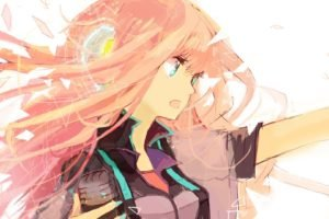 anime, Vocaloid, Megurine Luka, Anime girls