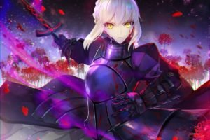 Saber Alter, Fate Series, Anime girls, Anime