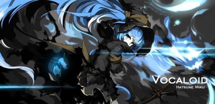 Vocaloid, Mivit, Hatsune Miku, Anime girls, Twintails, Aqua hair, Aqua eyes HD Wallpaper Desktop Background
