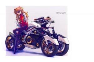 Neon Genesis Evangelion, Asuka Langley Soryu, Anime girls, Anime, Yamaha Tesseract