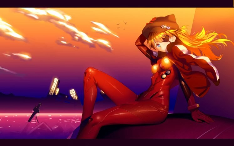 Neon Genesis Evangelion, Asuka Langley Soryu, Anime girls, Anime HD Wallpaper Desktop Background