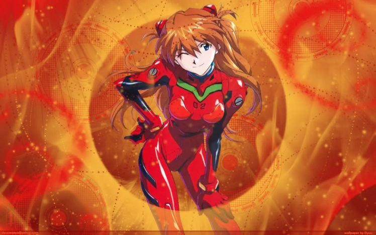 Neon Genesis Evangelion, Asuka Langley Soryu, Anime girls, Anime HD Wallpaper Desktop Background