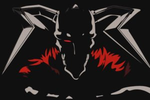 Bleach, Anime, Kurosaki Ichigo, Anime vectors, Vasto Lorde, Black background, Horns