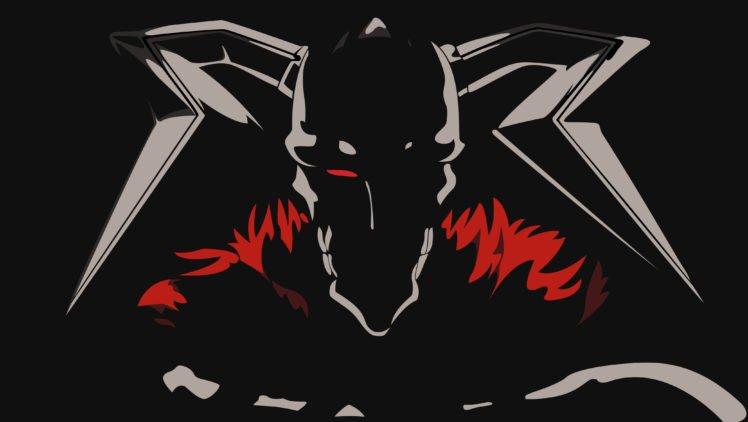 Bleach, Anime, Kurosaki Ichigo, Anime vectors, Vasto Lorde, Black background, Horns HD Wallpaper Desktop Background