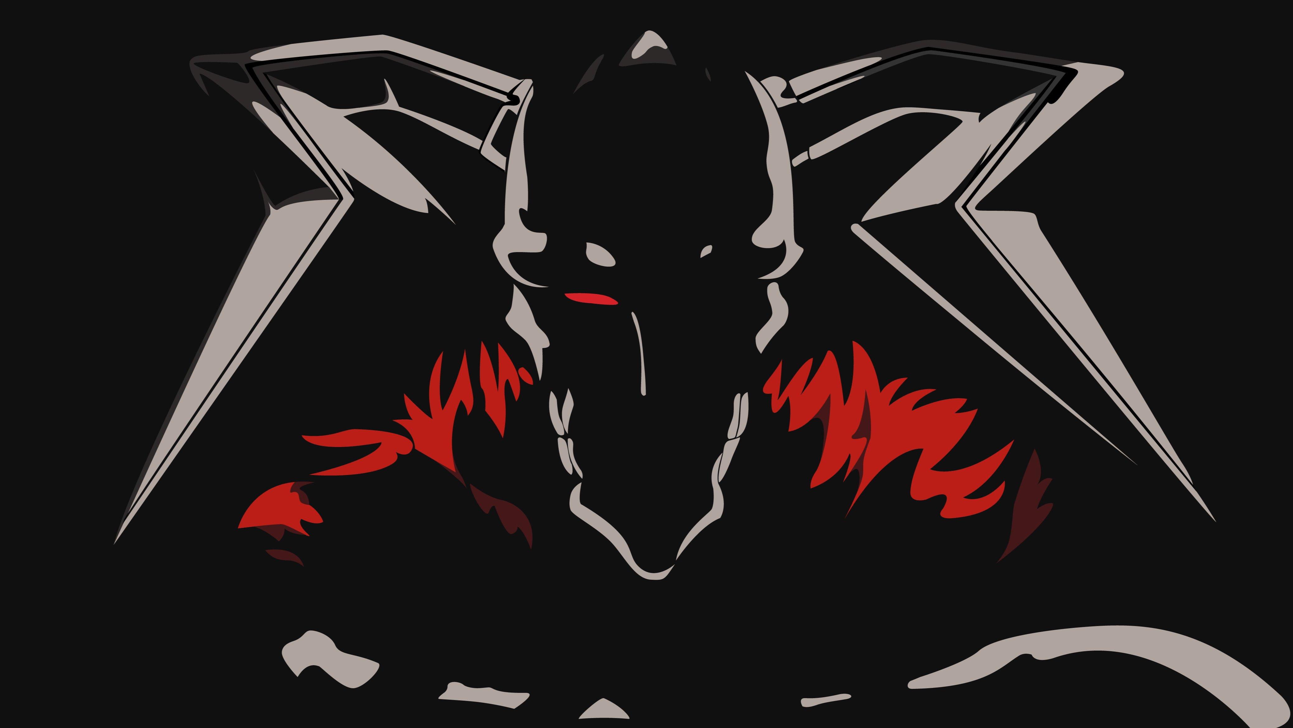Bleach anime kurosaki ichigo anime vectors vasto lorde - Anime wallpaper black background ...