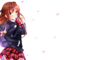 anime, Anime girls, Swordsouls, Chuunibyou demo Koi ga Shitai!, Nibutani Shinka, Schoolgirls