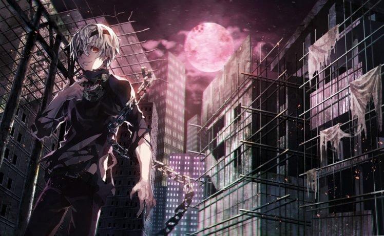 Tokyo Ghoul, Kaneki Ken HD Wallpaper Desktop Background