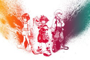 Kingdom Hearts, Sora (Kingdom Hearts), Riku, Kairi