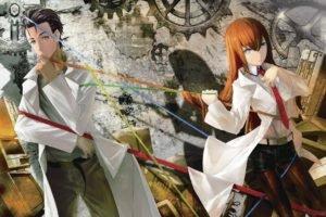 Steins;Gate, Okabe Rintarou, Makise Kurisu, Anime