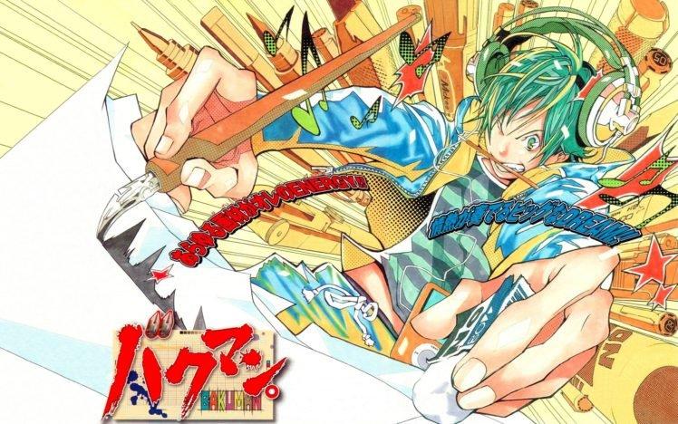 Bakuman, Moritaka Mashiro HD Wallpaper Desktop Background