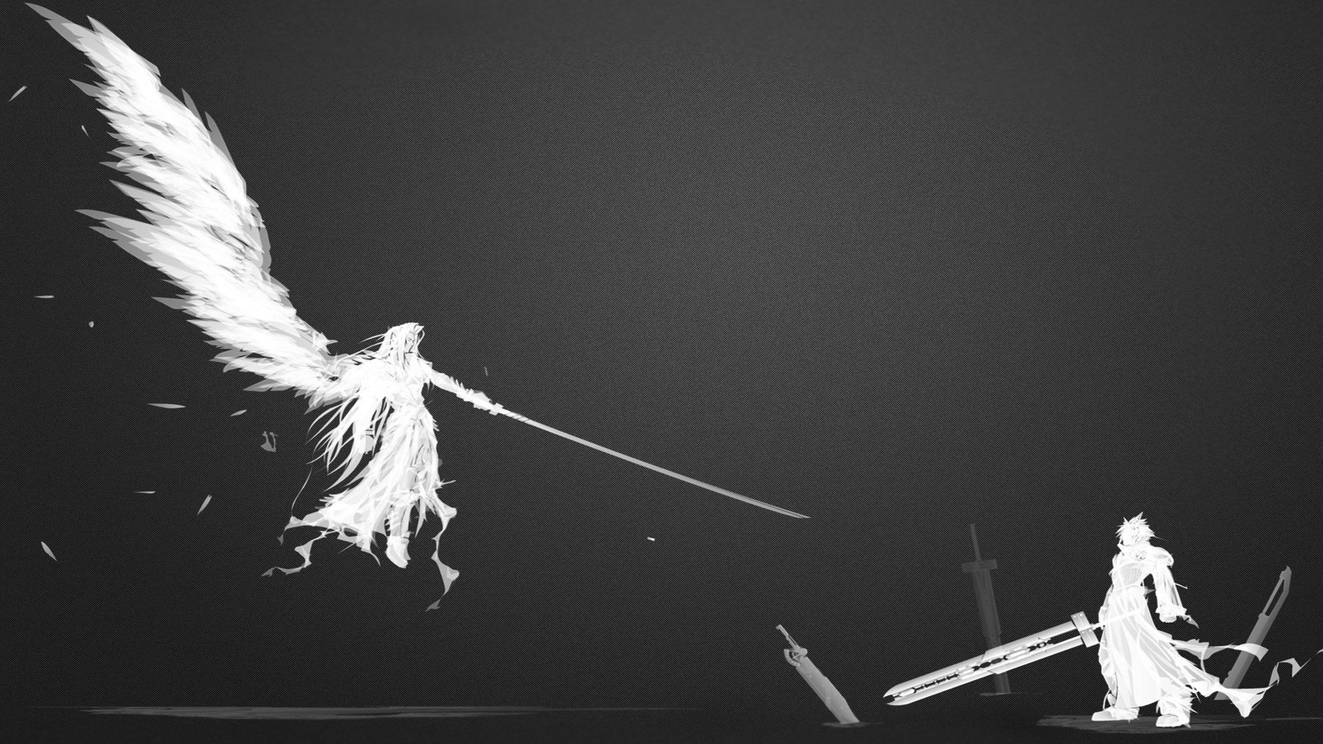 Final Fantasy Vii Sephiroth Cloud Strife Hd Wallpapers