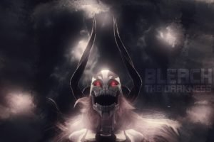 Bleach, Kurosaki Ichigo, Vasto Lorde, Horns, Glowing eyes, Hollow