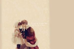 Axis Powers Hetalia, Simple background, Anime boys